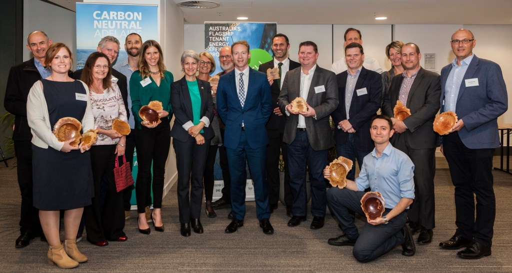 Carbon Neutral Adelaide Awards 2019 Finalists - chosen from 175 partner organisations